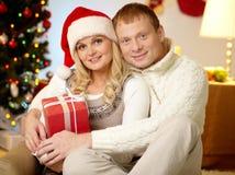 Merry couple Stock Image