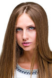 Portrait of an attractive fashionable young woman. Stock Photography