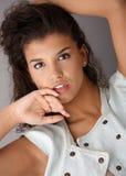 Portrait of attractive female Stock Image