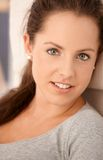 Portrait of attractive female smiling Royalty Free Stock Photography