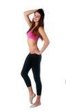 Portrait of attractive fitness girl Stock Photo