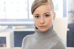 Portrait of attractive girl Royalty Free Stock Image