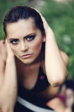 Portrait of attractive girl Royalty Free Stock Images
