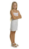 Portrait of the attractive girl standing Royalty Free Stock Photography