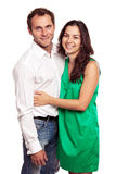 Portrait of an attractive loving couple Royalty Free Stock Photography