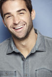 Portrait of an attractive man. Laughing Stock Photo