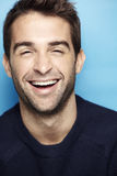 Portrait of an attractive man. Laughing Stock Photos