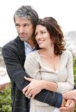 Portrait of an attractive mature couple in love Stock Images