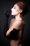 Portrait of attractive model Stock Photo