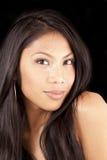 Portrait attractive Pacific Island woman Stock Image