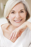 Portrait of Attractive Senior Woman stock image