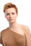 Portrait of attractive trendy woman Stock Photo