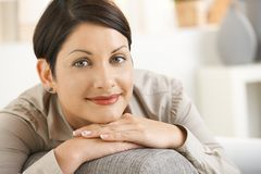 Portrait of attractive woman Royalty Free Stock Image