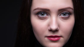 Portrait of attractive woman, close up Stock Image