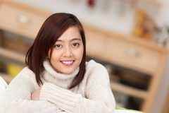Portrait of an attractive young Asian woman Stock Photography