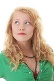 Portrait of a attractive young blonde Royalty Free Stock Photos