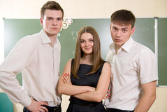 Portrait of an attractive young business group Stock Image