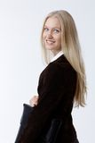 Portrait of attractive young businesswoman Royalty Free Stock Photography