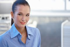 Portrait of attractive young businesswoman Stock Photo
