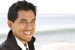 Portrait of an attractive young Hispanic man Royalty Free Stock Photography