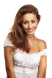 Portrait of a attractive young woman Stock Photos