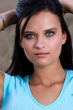 Portrait of an attractive young woman Royalty Free Stock Photos