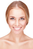 Portrait of attractive young woman Royalty Free Stock Photography