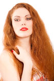 Portrait of attractive young woman Stock Image
