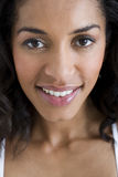 A portrait of an attractive young woman smiling Royalty Free Stock Photos