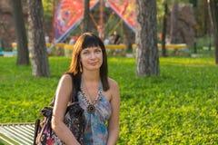 Portrait attrayant de fille Image libre de droits