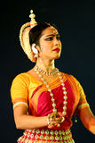 Portrait of authentic Odissi Dancer Stock Image