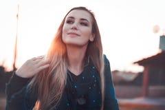 Portrait authentique de femme photographie stock libre de droits