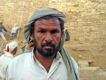 Portrait bédouin photographie stock