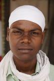 Portrait of Baba Jay Gurudev follower Royalty Free Stock Photo