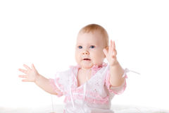 Portrait of a baby Stock Images