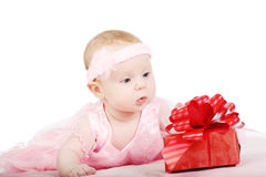 Portrait of the baby Stock Photography