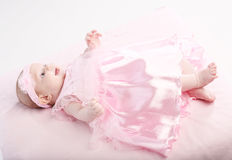 Portrait of the baby Royalty Free Stock Image