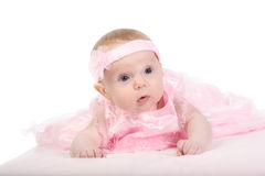 Portrait of the baby Stock Images