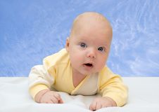 Portrait of baby Stock Photos
