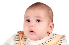 Portrait of a baby Royalty Free Stock Images