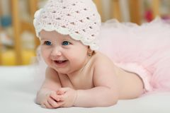 Portrait of a baby Royalty Free Stock Photo