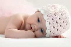 Portrait of a baby Royalty Free Stock Photography