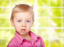 Portrait of Baby stock image