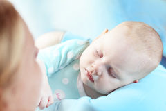 Portrait of a baby Stock Photo