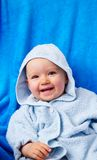 Portrait of baby. Portrait of little girl after bath Royalty Free Stock Photography