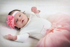 Portrait of a baby Stock Photos