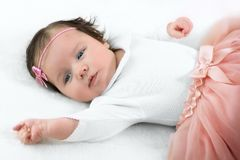 Portrait of a baby Royalty Free Stock Image