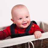 Portrait of  baby boy Royalty Free Stock Photos