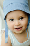 Portrait of baby boy Stock Images