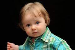 Portrait of baby boy Royalty Free Stock Photography